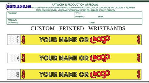 Custom Printed, Tyvek wristbands, Custom Wristband, Printed wristband, custom Printed, Security, tyvek, Bands