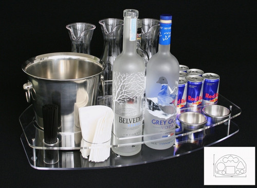 serving tray, vip serving tray, vip service, bottle service, vip guest, custom, ice buckets, garnish bowls, carafes, bottle service serving tray, vip bottle service, serving, bottle, carafe, VIP carrier, Wine, list, VIP, Bottle service, servicio de bottella, champagne, Marquee, experience, presentation, LIV,