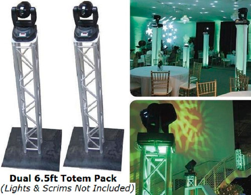 Truss Totem Kit, Truss, Totem, light, stand