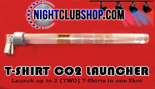 T-SHIRT, LAUNCHER,CO2 ,POWERED, PORTABLE 16 Gram ,CO2 Cartridges, T shirt,tshirt, gun,cannon,launcher