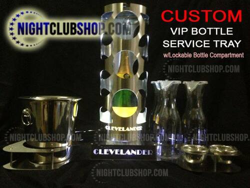 Elite, VIP, Bottle, Service, Bottle Service Tray, Tray, custom, engraved, nightclub, tray, trey, serving tray, liquor tray, Champagne, Bottle service, Bottle delivery