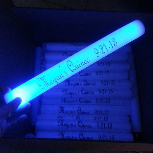 quince, corporate, high,quality, Foam Stick, LED, GLOW, Light, Stick, Wand, Baton,