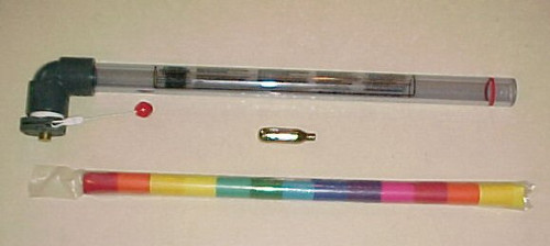Rainbow, confetti, streamer, quick pack, quick load, effect,