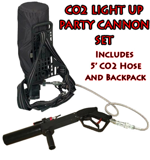 Co2 Gun kit, CO2 Party Cannon, CO2, Party, Cannon, Gun, Kit, Package, hose, backpack, Party blaster, Kryo, Cryo ,