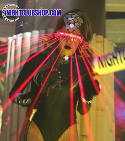 Laser, Glasses, special, effect, lazer, glove, kit, FX, DJ, Nightclub, dancer,