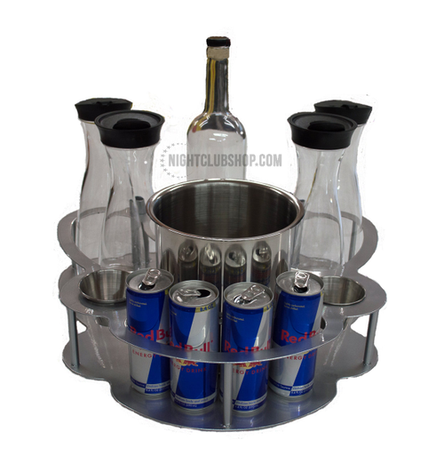 VIP, BOTTLE SERVICE, CHAMPAGNE, SERVICE, TRAY, ICE BUCKET, CARAFE, Bar
