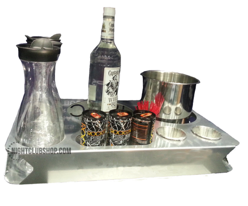 Large, Custom, Bottle, Service, Bottle Service, Tray,Delivery, VIP, Logo