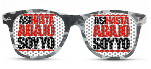 custom, printed, party, glasses, sun glasses, camo