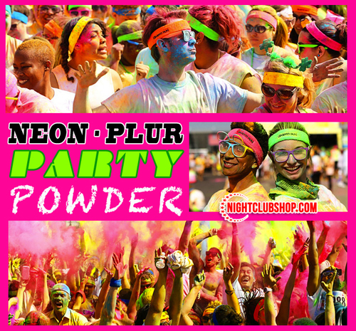 PLUR, PARTY, Celebration, Powder