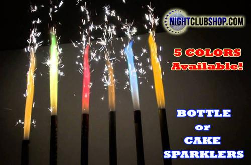 BottleSparkler, Color, Colorful, Champagne, Cake, Bottle, sparkler, Color Sparkler