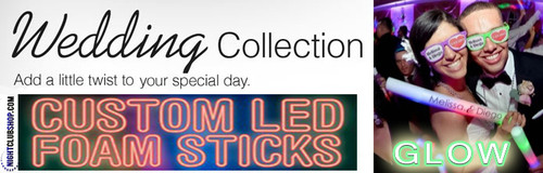 wedding-personalized-customized-glowstick-glowsticks-Foamstick-foamsticks-foam-stick-glow-LED-wand