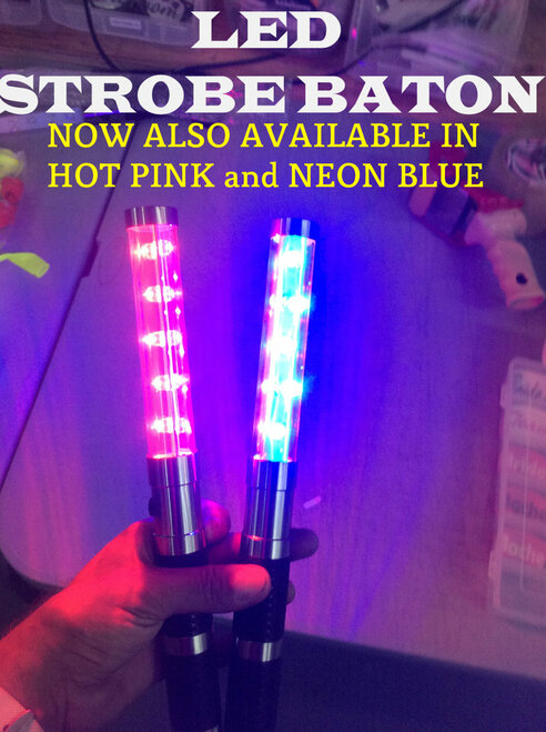 Color, LED, STROBE, Baton, Flash, Wand, Hot, Pink, Red, Neon, Blue, Bottle, Service, Electronic, alternative