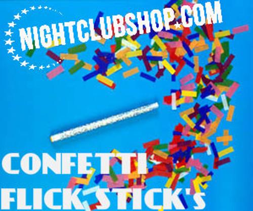 Flutter Fetti Confetti Sticks,Confetti Sticks,multi,color,flutterfetti,confetti