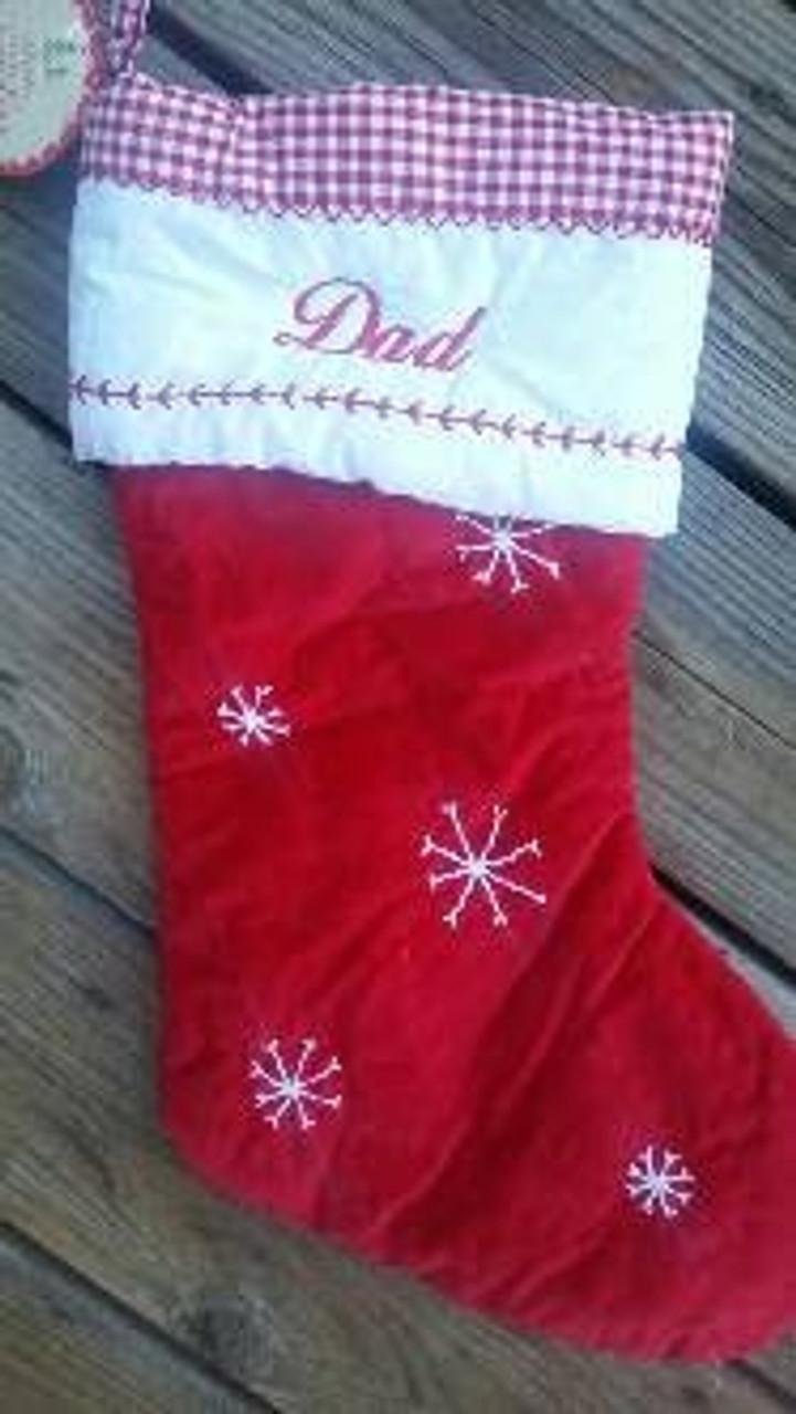 Mom & Dad Stockings