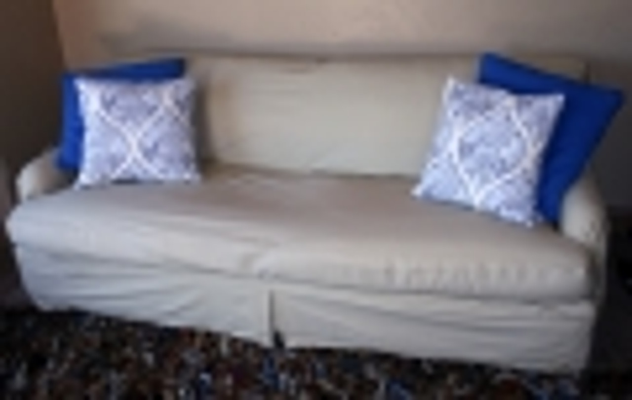 Separate Seat Tailored T Cushion Slipcovers