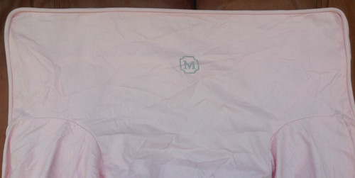 Premonogrammed Regular Size Ugly-Where Chair - M -  L169 - Light Pink