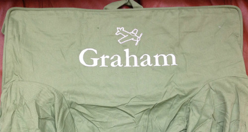 Premonogrammed Regular Size Ugly-Where Chair - Graham -  LM295 - Grass Green