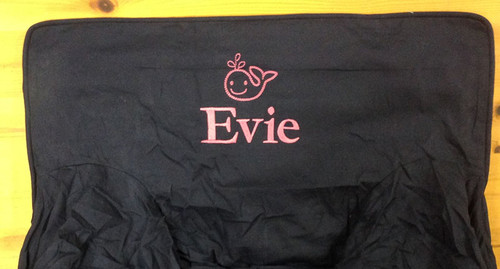 Premonogrammed Regular Size Ugly-Where Chair - Evie - LM1240 - Navy