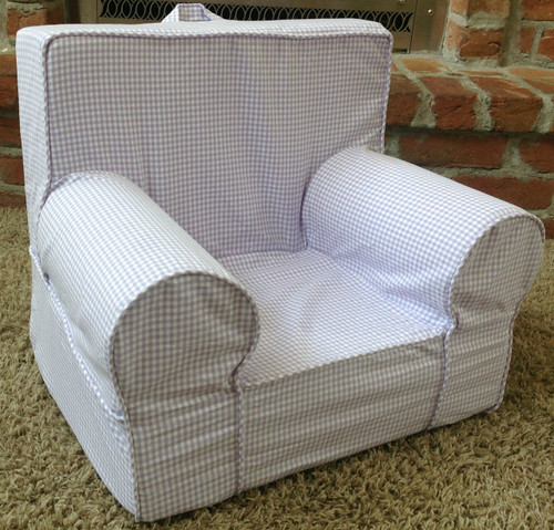 Ugly-Where Chair Slipcover - Mini Size - Free Personalization - Lavender Ginaham