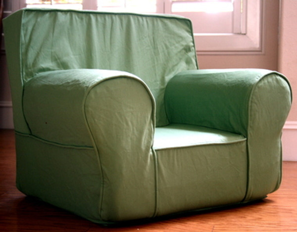 Ugly-Where Chair Slipcover - Oversized - Free Personalization - Green