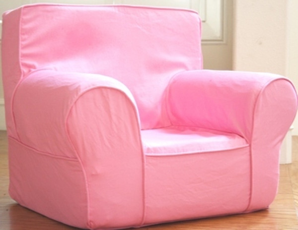 Ugly-Where Chair Slipcover - Oversized - Free Personalization - Pink
