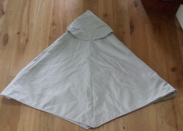 Pottery Barn Market Umbrella Replacement Canopy - 6' Round - Natural