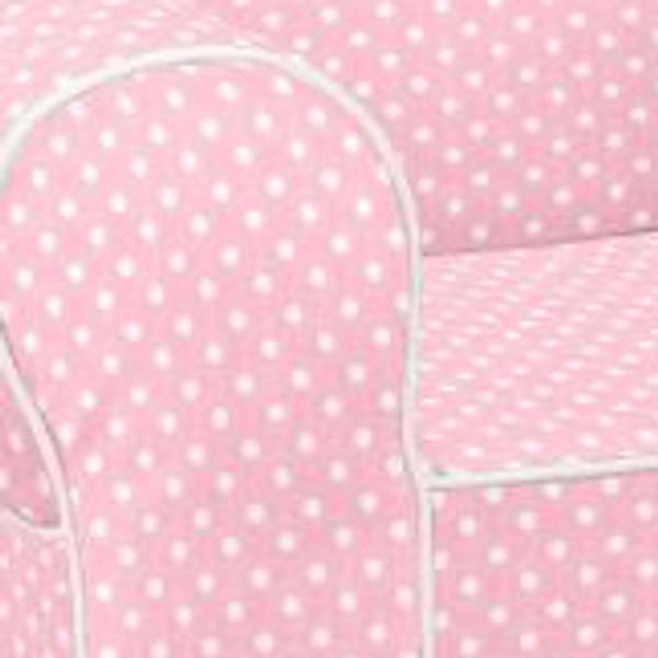 Ugly-Where Chair Slipcover - Mini Size - Free Personalization - Light Pink Mini Dot