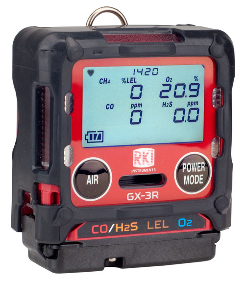 RKI Instruments GX-3R Four Gas Monitor