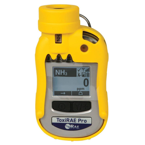 RAE Systems ToxiRAE Pro Single Gas Monitor with Ethylene Oxide (EtO-C) extended-range sensor (0 - 500 ppm; 10 ppm res.)