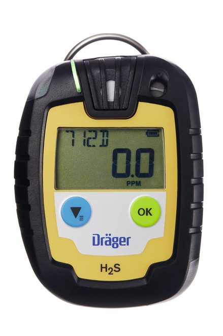 Draeger Safety PAC 6000 Single Gas Hydrogen Sulfide (H2S) Monitor