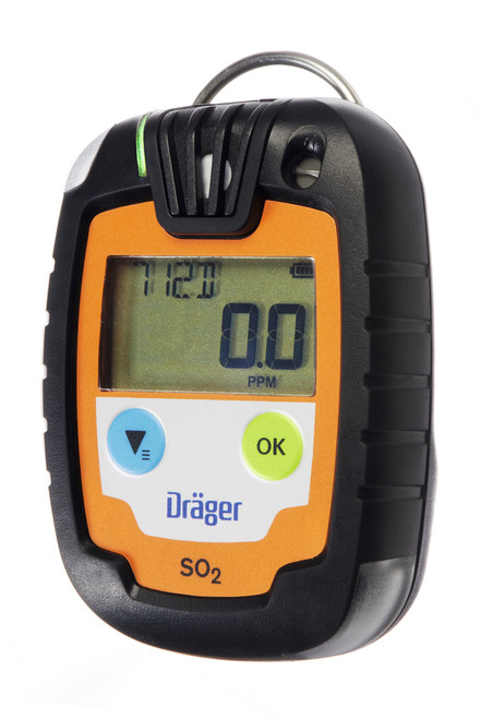 Draeger Safety PAC 6000 Single Gas Sulfur Dioxide (SO2) Monitor
