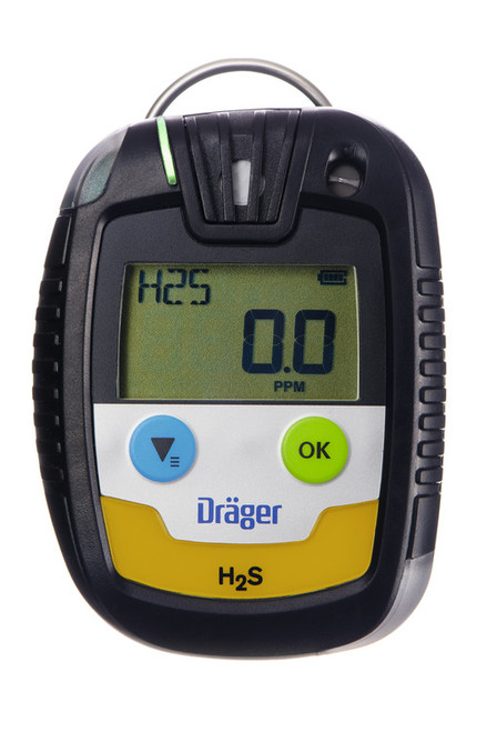 Draeger Safety PAC 6500 Single Gas Hydrogen Sulfide (H₂S) Monitor
