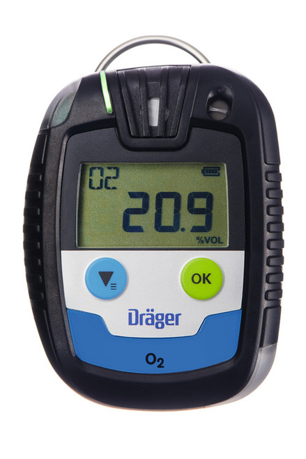 Draeger Safety PAC 6500 Single Gas Oxygen (O₂) Monitor