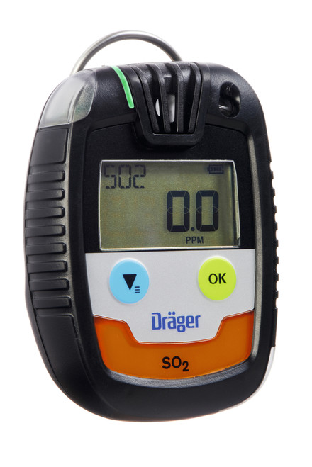 Draeger Safety PAC 6500 Single Gas Sulfur Dioxide (SO2) Monitor