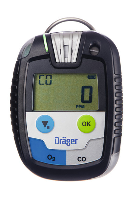 Draeger Safety PAC 8500 Gas Monitor with Oxygen/ Carbon Monoxide Sensor