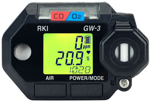 RKI Instruments GasWatch 3 with CO/O2 Sensors