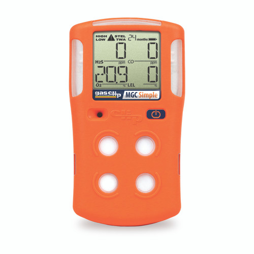 Gas Clip Technologies Multi Gas Clip Simple 2 Year 4 Gas Detector
