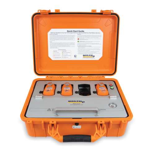 Gas Clip Technologies Multi Gas Clip Docking Station In Portable Case