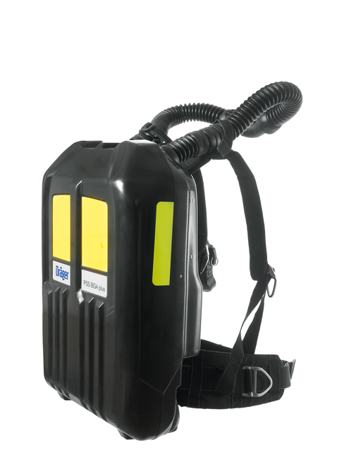 Draeger BG 4 Plus Closed Circuit Breathing Apparatus (Rebreather) WITH FPS 7000 Hydration Mask, Cylinder and Case