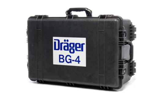 Black Pelican Case w/Wheels for Draeger Safety BG 4 Plus Closed Circuit Breathing Apparatus (Rebreather)
