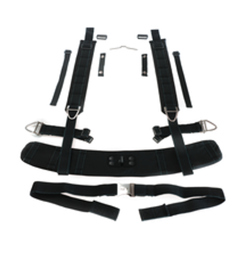 PSS BG-4 Harness System  for Draeger Safety BG 4 Plus Closed Circuit Breathing Apparatus (Rebreather)