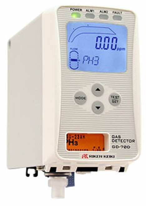 RKI Instruments GD-70D Sample Draw Gas Monitor for Toxic Gases (N-Z)