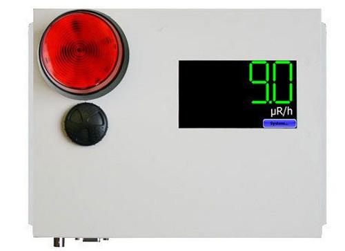 S.E. International Radiation Alert AM-7149 Area Monitor