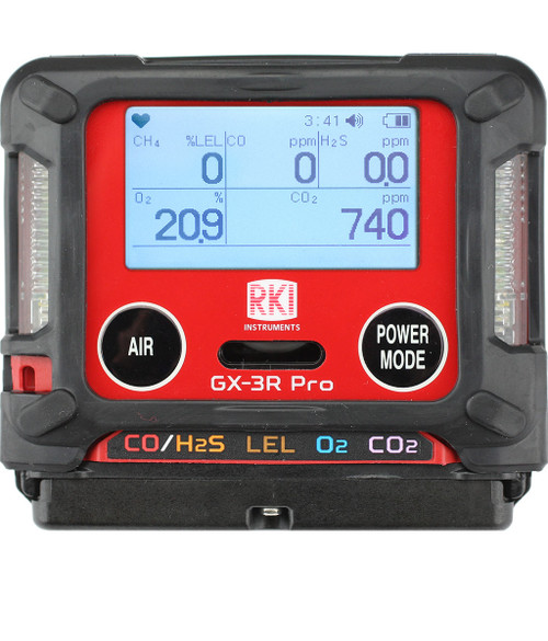RKI Instruments GX-3R Pro Special Agricultural Version with O2,LEL,CO, H2S,PH3 Sensors