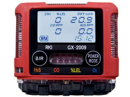 RKI GX-2009 Mulitgas Meter (O2,LEL,CO,H2S) Sensors