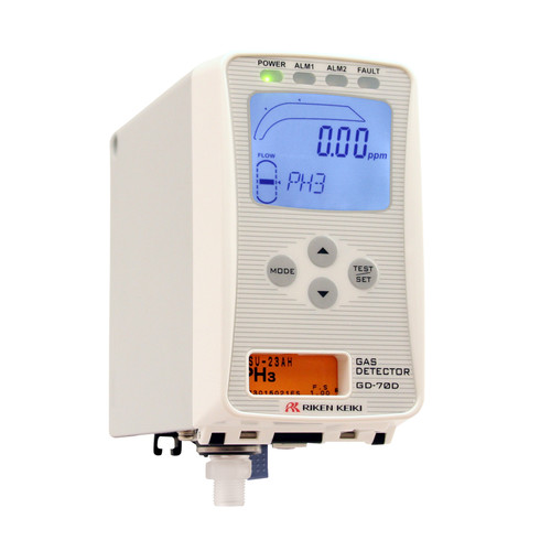 RKI Instruments GD-70D Fixed Sample Draw Gas Monitor for Toxic Gases (A-C)