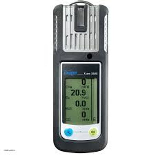 Drager X-am 2500 Multi Gas Monitor Alkaline Version