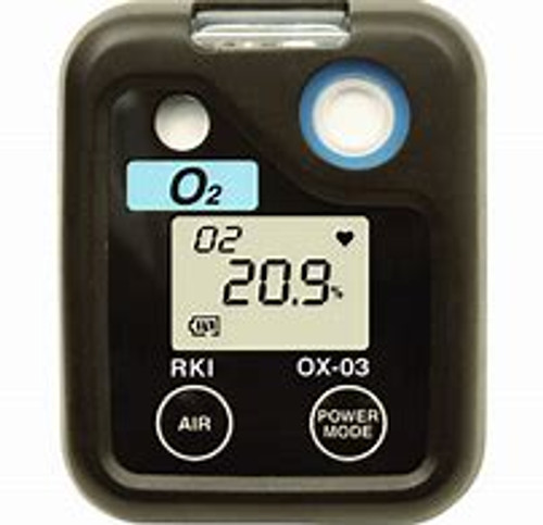 RKI Instruments 03 Single O2 Gas Personal Monitor