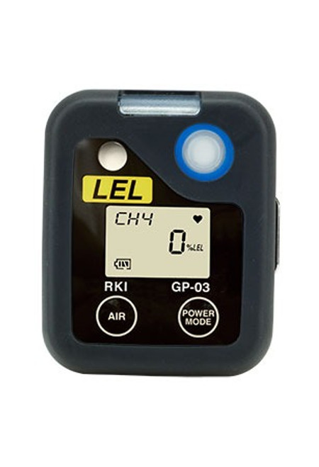RKI  Instruments GP-03 Single Gas LEL Personal Monitor