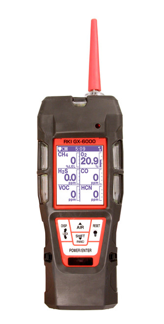 RKI Instruments GX-6000 Multigas Gas Monitor